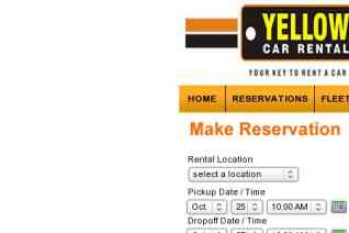 Yellow Car Rental reviews and complaints