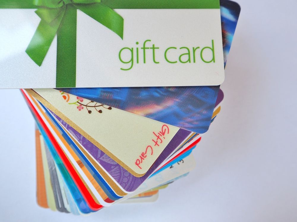 Gift Cards, Rewards and Cashbacks