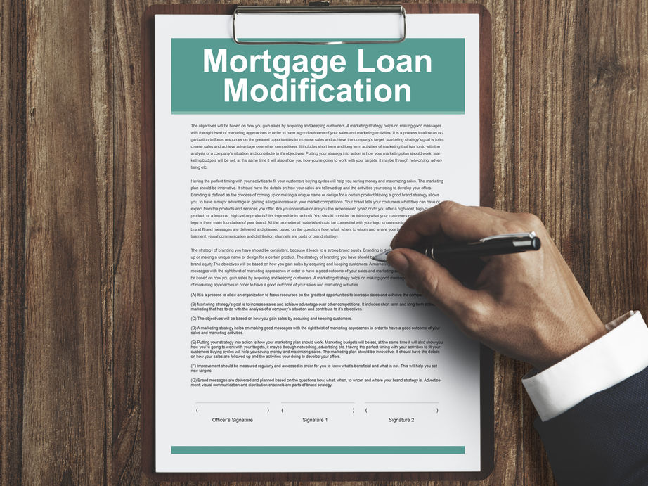 Reviews for Mortgage Modification