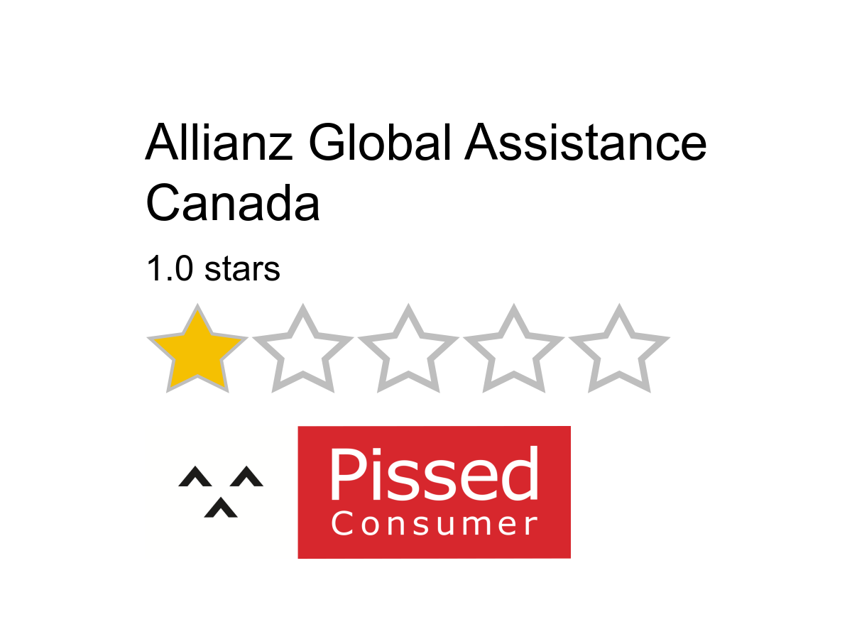 1 Allianz Global Assistance Canada Review or Complaint ...