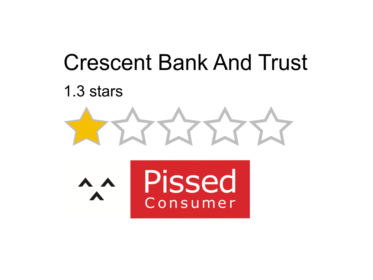 crescent bank and trust reviews