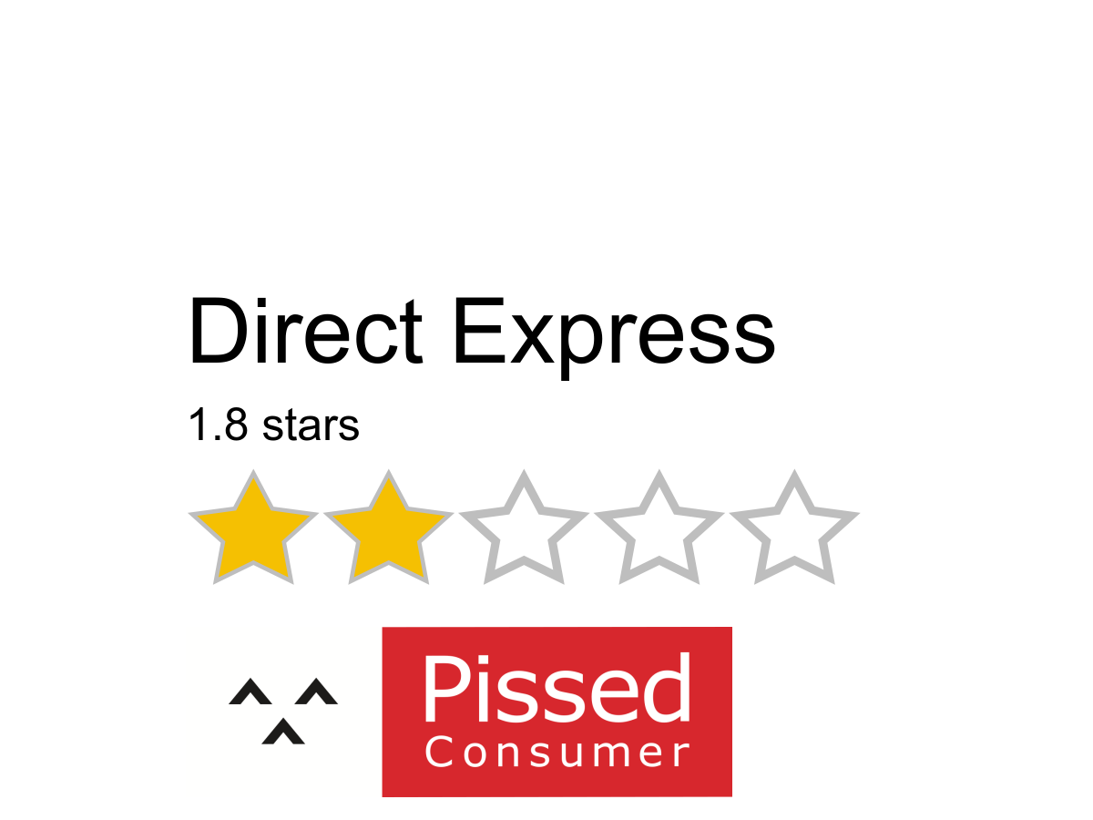 Direct Express Reviews and Complaints @ Pissed Consumer Page 8