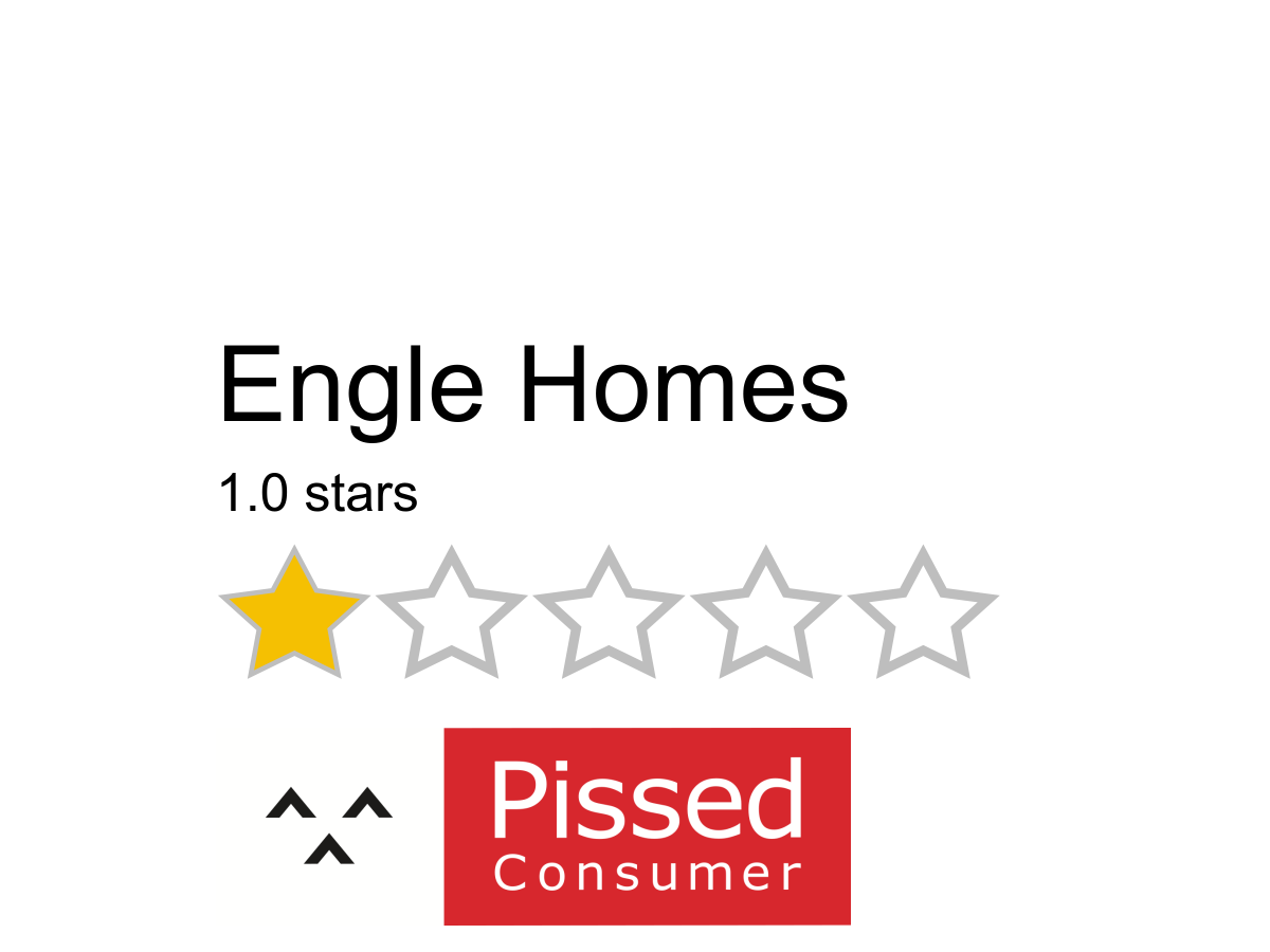 14 Engle Homes Reviews And Complaints Pissed Consumer
