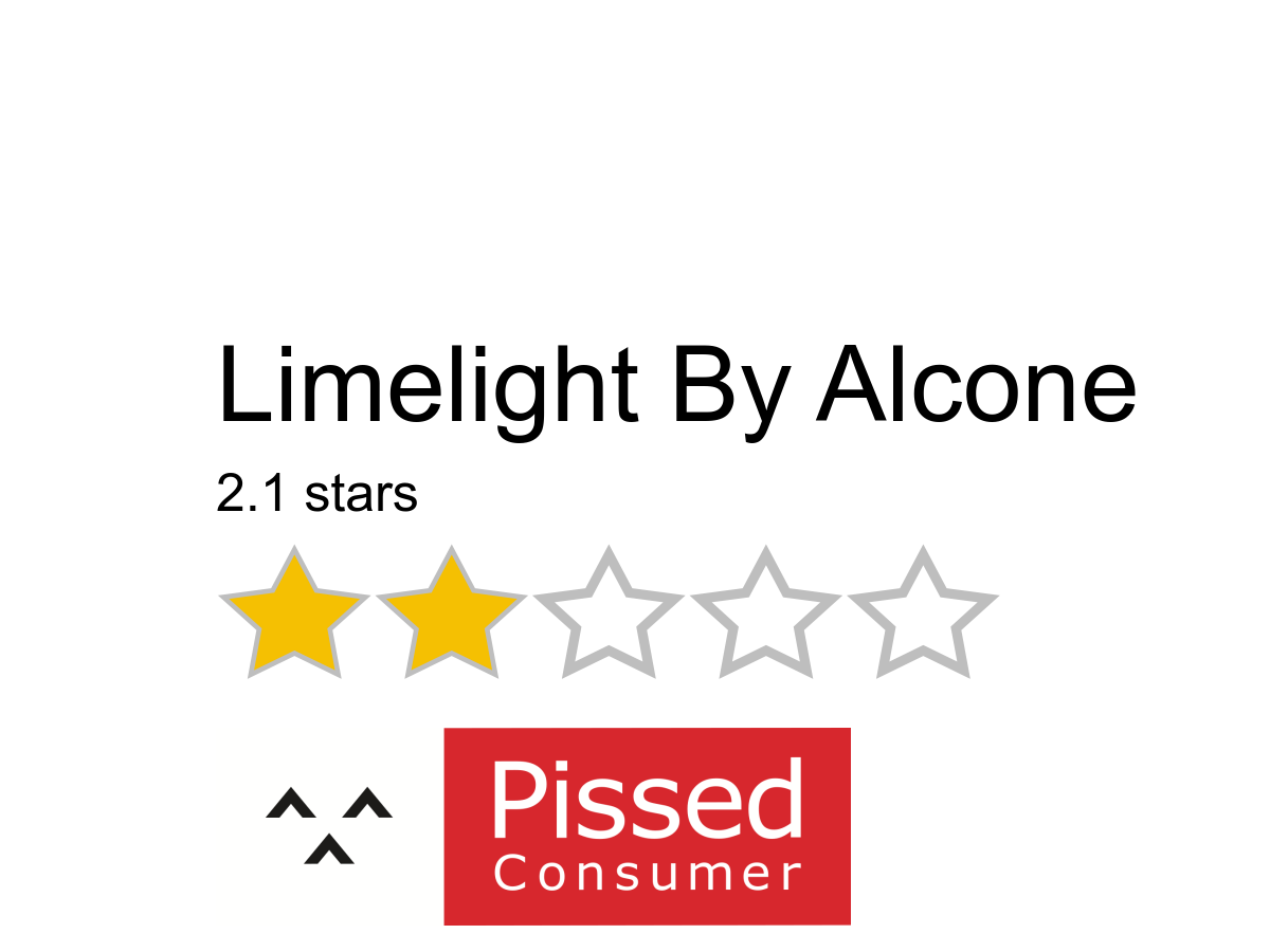 Limelight By Alcone Reviews And Complaints Pissed Consumer Page 5