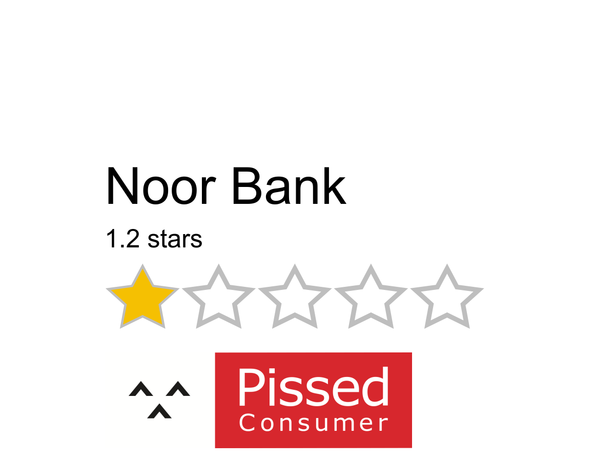 128 Noor Bank Reviews And Complaints Pissed Consumer