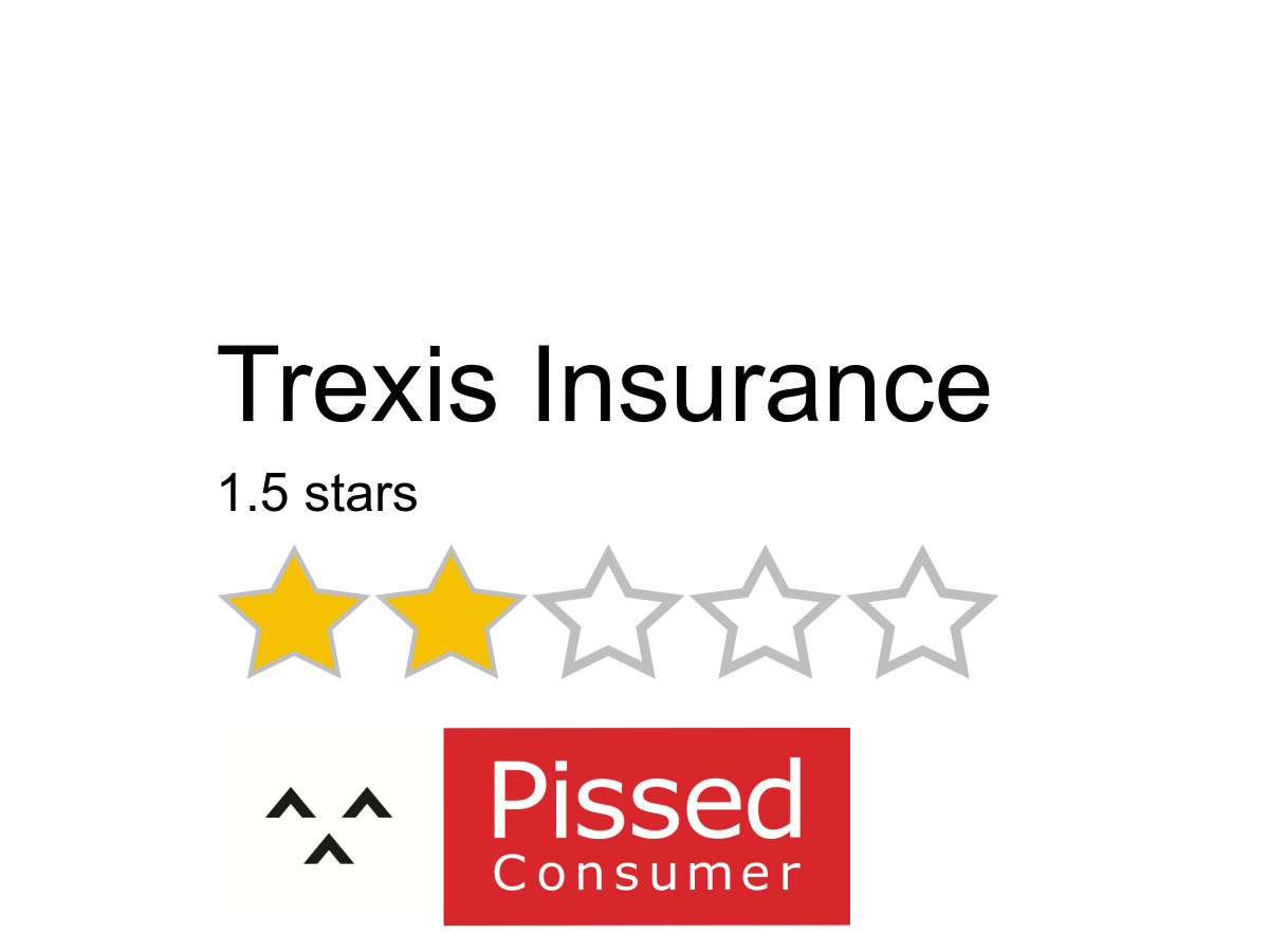 51 Trexis Insurance Reviews And Complaints Pissed Consumer