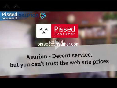 Asurion - Decent service, but you can't trust the web site prices