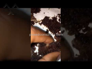 Betty Crocker - Disgusted at Triple Chocolate Cake