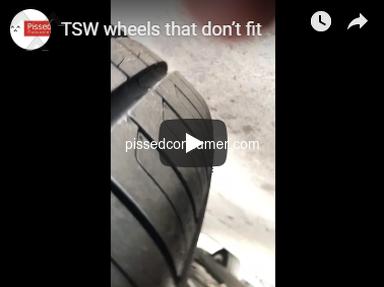 Carid - TSW wheels that don't fit