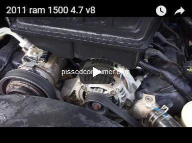 Chrysler - 2011 ram 1500 4.7 v8