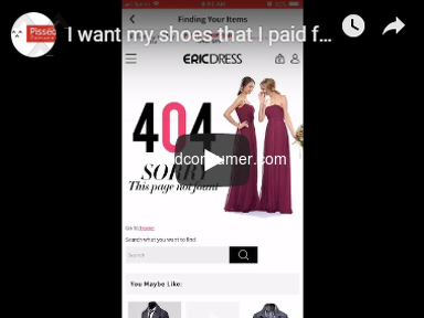 Ericdress - I want my shoes that I paid for