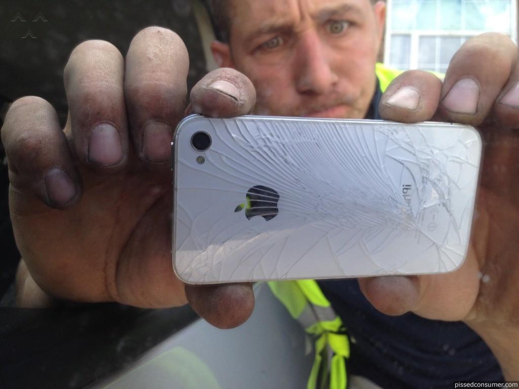 Gripgo - Phone Damage Review from Aldershot, England