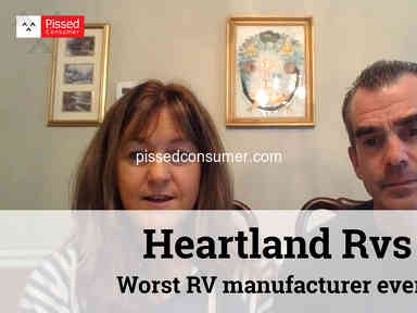Heartland Rvs - Worst RV manufacturer ever, cracks in sidewall, they don't care