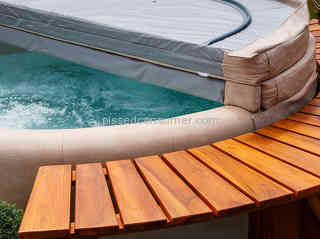 Hot Tub Works - Hot Tub Cover Leaks Rain Water