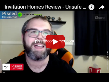 Invitation Homes - Unsafe homes owned by thieves and liars