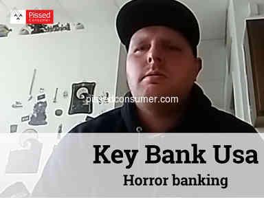 Key Bank Usa - Horror banking
