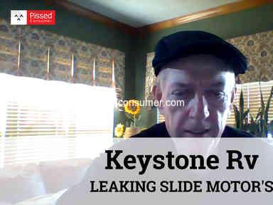 Keystone Rv - LEAKING SLIDE MOTOR'S
