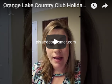 Orange Lake Resorts - BEWARE of this company