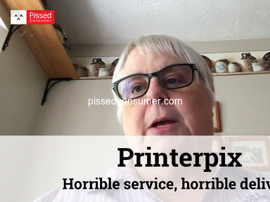 Printerpix - Horrible service, horrible delivery, oversold their production capabilities