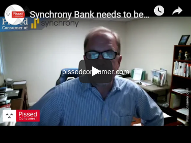 Synchrony Bank needs to be investigated by the FTC!