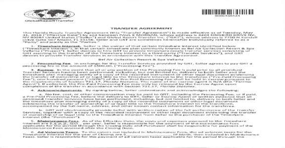 Global Resort Transfer - Poor Customer Contract Service