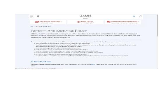 Zales - Pathetic & frustrating