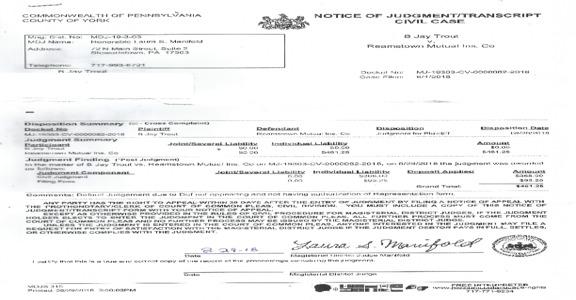 Reamstown Mutual Insurance - Auto Renewal Ripoff!!!