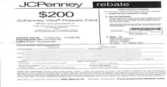Jcpenney - DISHONORABLE COMPANY PRACTICES