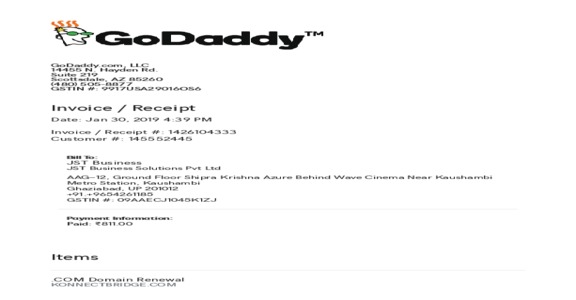 GoDaddy - Domain Renewal Issues | Note showing in my Domain List