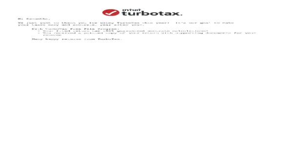 Intuit - TurboTax cost me by notifying me of a calculation error months later