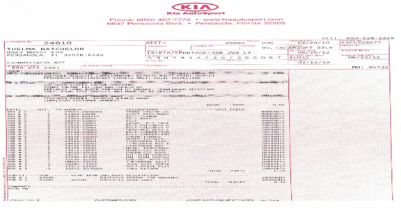 Kia Motors - My Experience with Kia Consumers Affair
