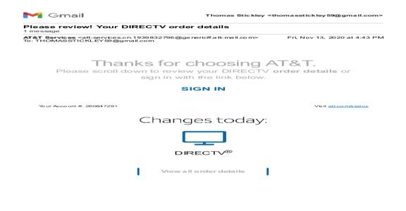 DIRECTV - Cancelation
