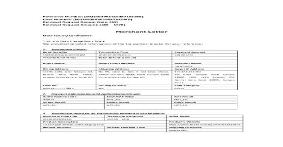 Lazada Malaysia - Unrecognized Transaction from Lazada