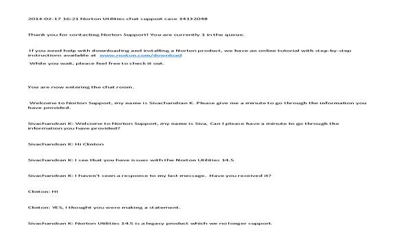 Symantec - Norton Utilities perpetual license does expire.