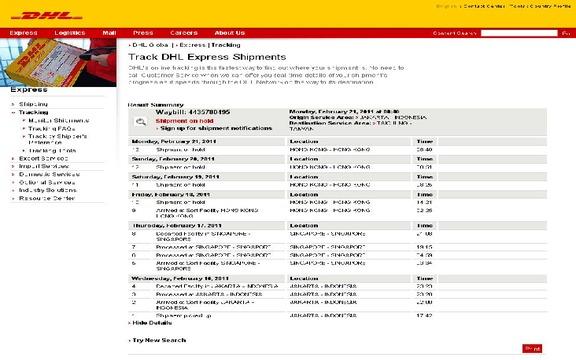 DHL Thief and Sabotage my shipment !!!