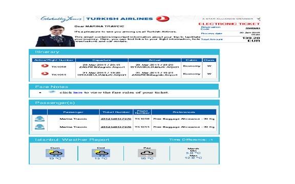 Turkish Airlines - UNPROFESSIONAL