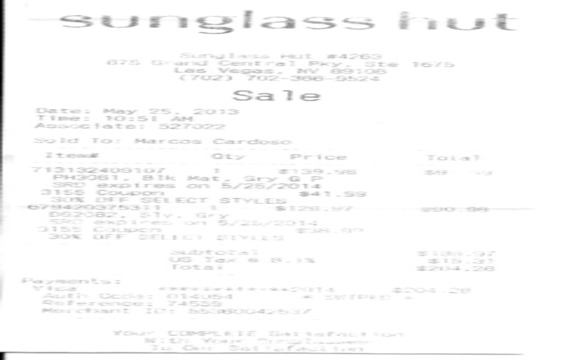 Ralph Lauren - Sunglasses lenses peeling off (only two years )