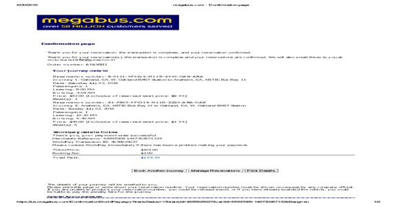 Megabus - Worst Customer Service / Lack of Professionalism / No Refund
