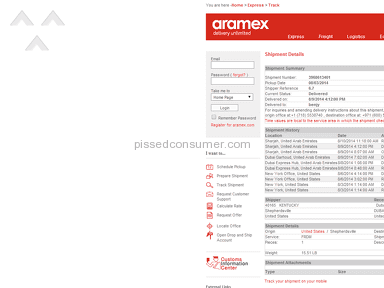 Impact of Disorganised Courier Company - ARAMEX