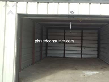 Simply Self Storage - Proactive, paid in advance..wont refund
