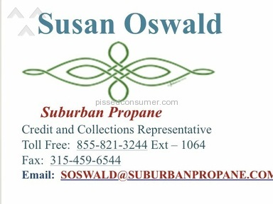 Suburban Propane - Susan Oswald - Horrible