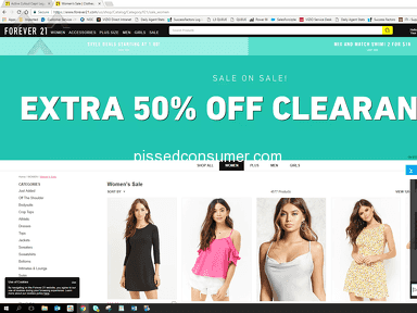 Forever 21 - Terrible Chat CS