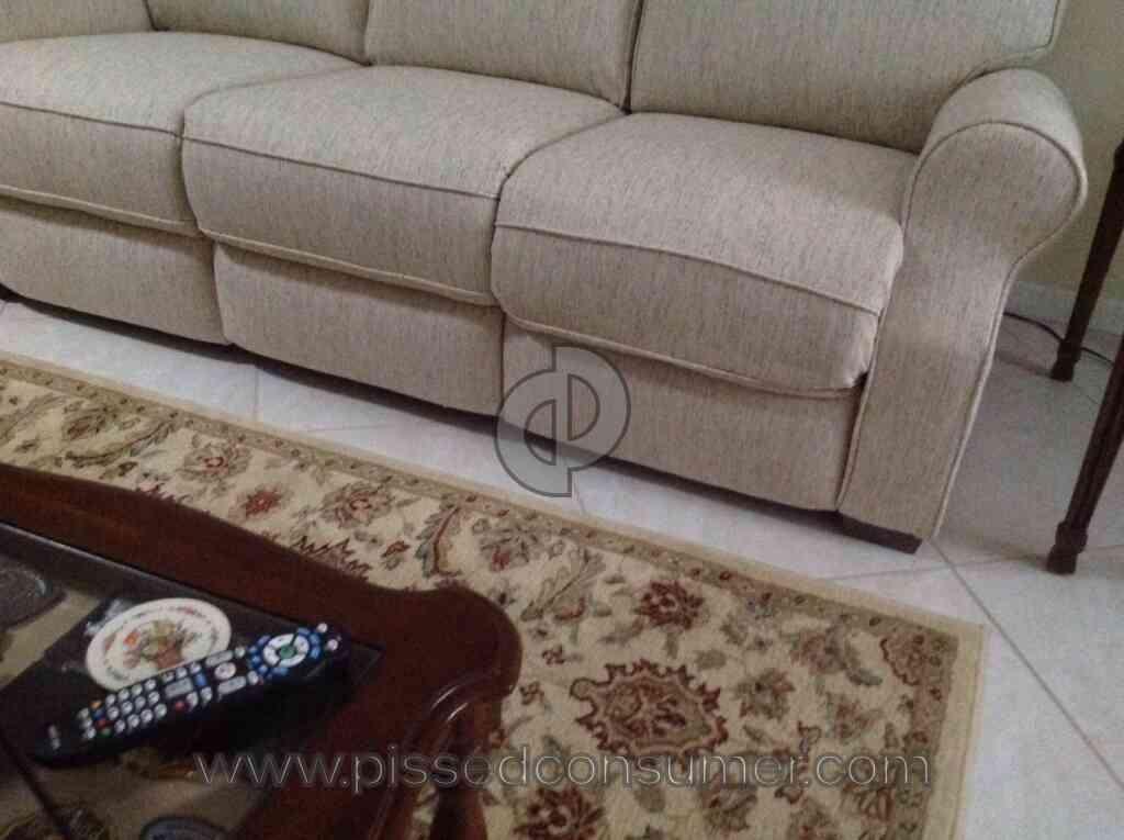 Resolved hudsons furniture defective sofa nov 05 2015 for Hudsons furniture