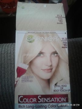 Garnier Extra Light Sun Blonde Hair Dye