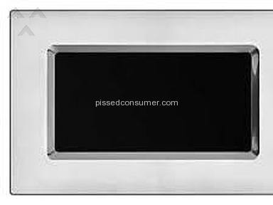 KitchenAid Microwave major design flaw