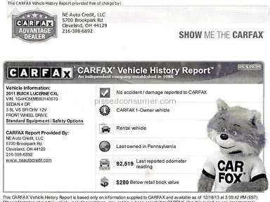 Carfax Auto review 44961
