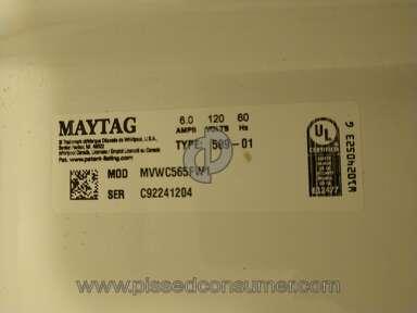 Maytag Washing Machine review 527321