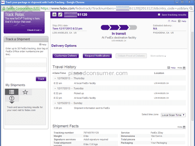Fedex Transportation and Logistics review 34513