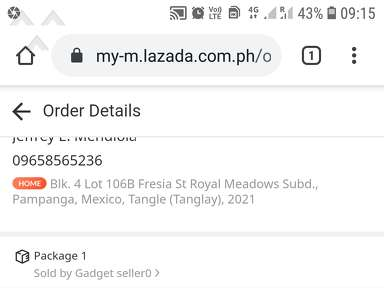 Lazada Philippines Profile review 601913