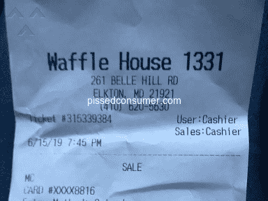 Waffle House - Horrid